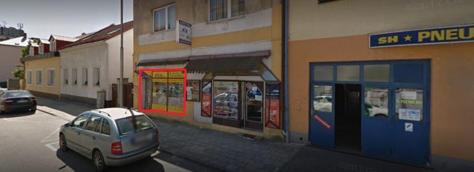 Pronájem lukrativních obchodních prostor 50 m2 – Nerudova