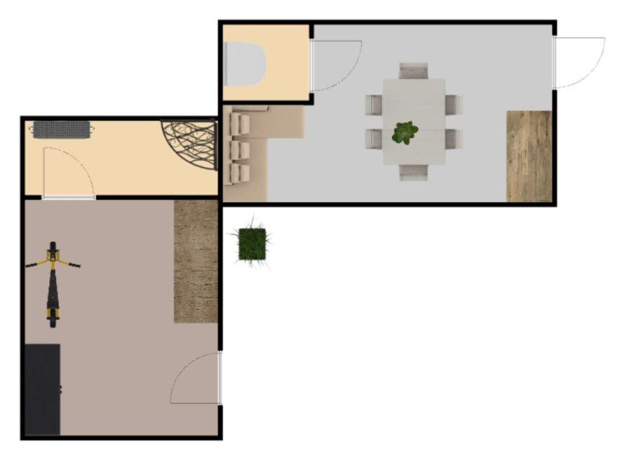 Přenechání užívání pěkné chaty 385 m2 – Předměřice nad Labem
