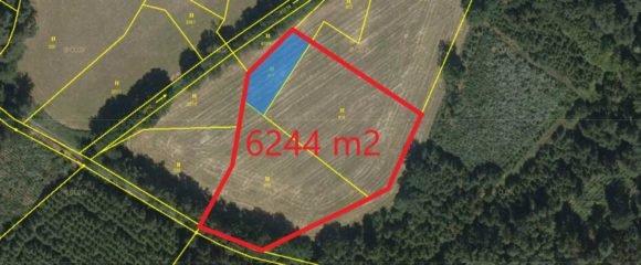 Prodej souboru pozemků 6244 m2 – Načešice u Heřmanova Městce